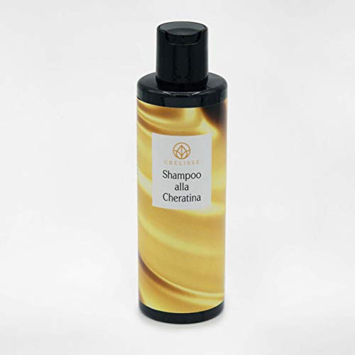 shampoo professionale capelli cheratina 100% biologici naturali made in italy (100 ml)