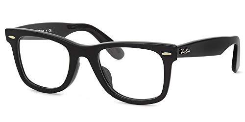 ■■■ レイバン スマート老眼鏡 ■■■ +1.00〜+3.50 の6段階! ウェイファーラー リーディンググラス シニアグラス に 非球面レンズ を採用! 紫外線カット ブルーライトカット Ray-Ban メガネフレーム RX5121F 2000 50サ