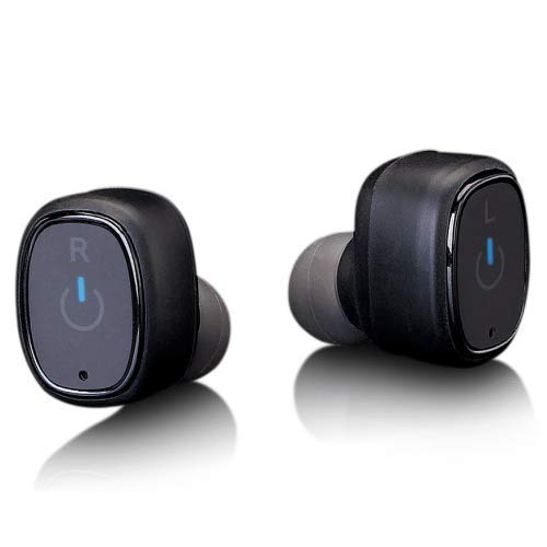 Lenco Epb-440 Bluetooth Kopfhörer - True Wireless In-Ear Kopfhörer mit Lade-Etui 850mAh - 4 Stunden Spielzeit - IP67 wasserdicht - Bluetooth V4.2 - Sport Ohrhörer