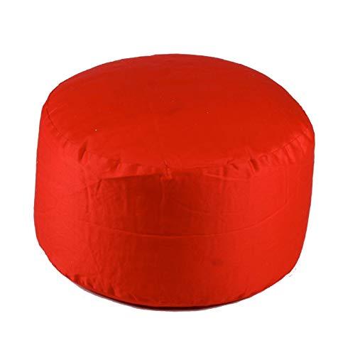 Xin Hai Yuan Sitzsack Fußschemel, Wasserdicht Bunte Sitzsack Fußschemel, Sitzsackwürfel Ottmans Und Sitze,Rot