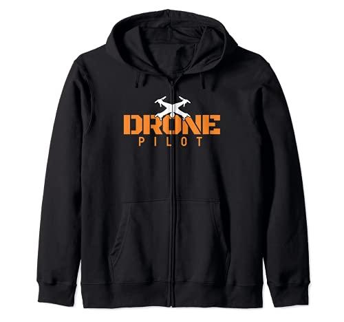 Drone Pilot I Vuelo de drones Hobby Fabricación de Sudadera con Capucha