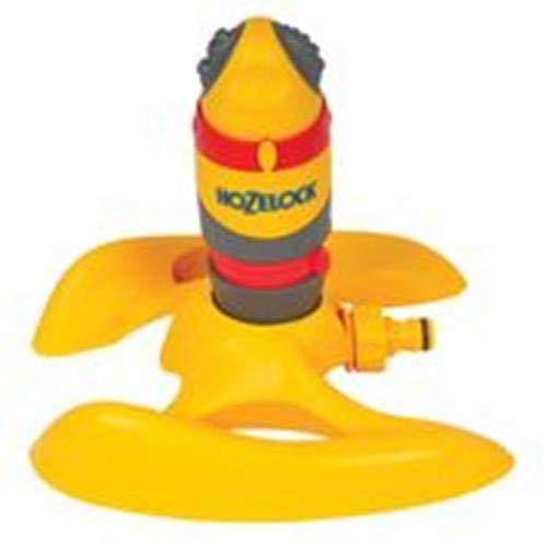 Hozelock - Aspersor redondo Pro con soporte trineo para 314m² de superficie y 5 tipos de riego