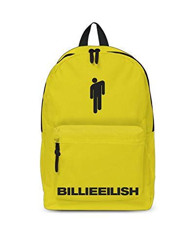 Billie Eilish Backpack - Bad Guy Yellow