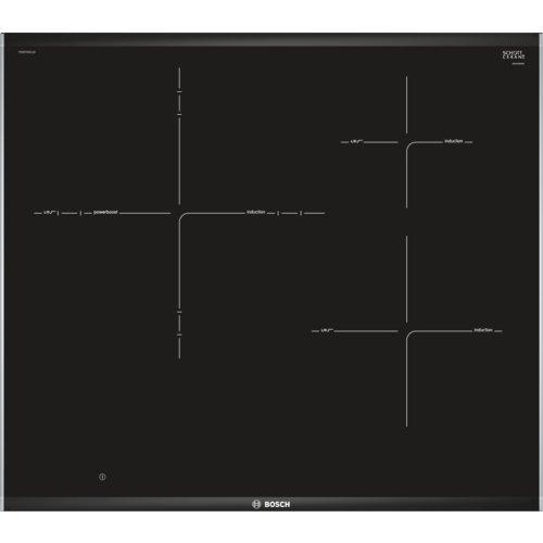 Bosch Serie 8 PID675DC1E Integrado Con - Placa (Integrado, Con placa de inducción, Vidrio y cerámica, Negro, LED, Tocar)