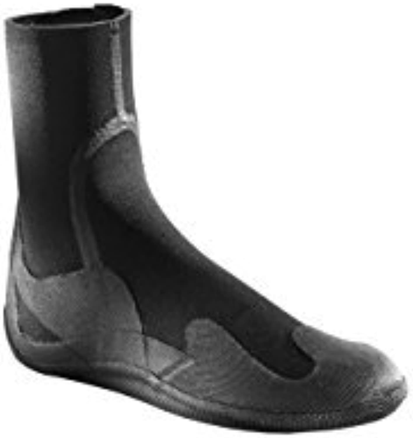 Xcel Youth 3mm Xplorer Round Toe Boot with Zip, Black, 5 by Xcel