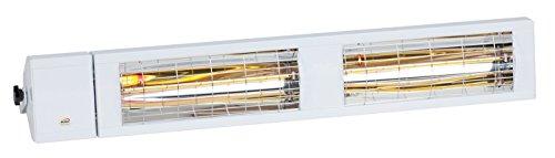 Burda Infrarot Kurzwellen Heizstrahler Smart Multi IP24 BHS4024, 4.000W - 240V, weiss