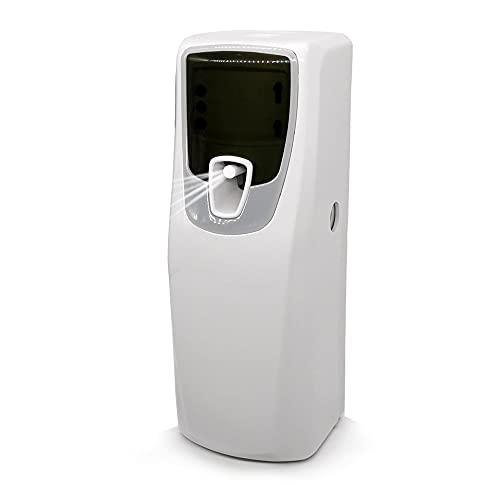 Dispensador Automático de Ambientador, Perfume Aeresol Montaje en la Pared/Independiente de Fragancia en Aerosoles Espray