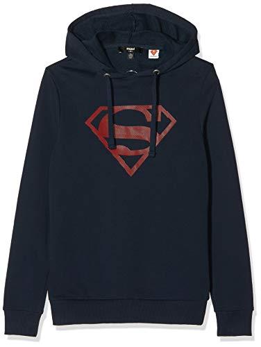 Mavi Superman Sweatshirt Sudadera, Azul (Total Eclipse 26828), Small para Hombre