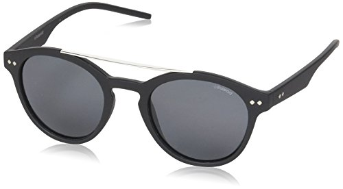 Polaroid - PLD 6030/S - Occhiali da sole Donna e Uomo Rotondi - Polarizzati - Materiale leggero - 100% UV400 protezione - Custodia protettiva inclusa