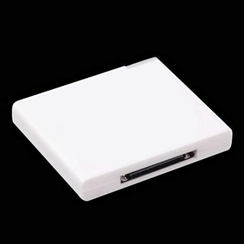 Simdaortawery Black & White v2.0 A2DP-Musikempfängeradapter für iPod Für...