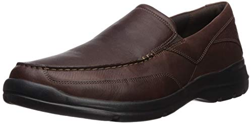 Rockport Men's City Play Two Slip On Oxford,Brown,10.5 M