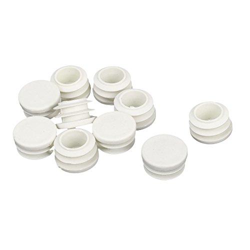 Sourcingmap® - Tapón de plástico Redondo Acanalado de 22 mm de diámetro,...