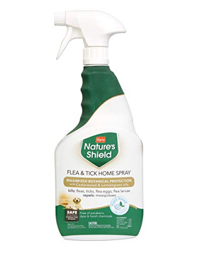 Hartz Nature's Shield Pet Spray and Home Spray, Kills Fleas and Ticks, Natural and effective Flea and Tick Protection with Plant Based Ingredients