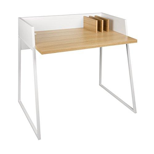 ikarus Revel Schreibtisch 90 x 62 cm, h 88 cm - Eiche/weiß