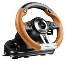 Speedlink - Racing Wheel Drift O.Z. Sl4495Bkor, Color Negro Y Amarillo (PS3)