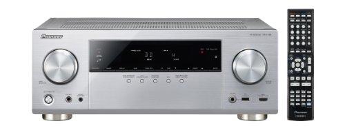 Pioneer VSX-528-S 5.1 AV-Receiver (Airplay, Steuerung via App, DLNA, HTC Connect, MHL, vTuner Webradio, Gappless Wiedergabe, 3D, 4K Ultra HD Pass-Through) Silber
