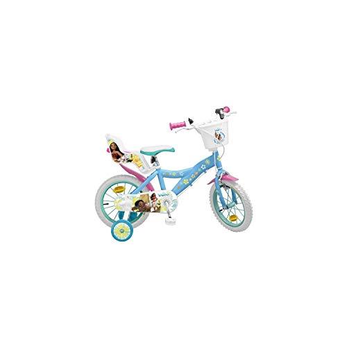 Vélo 14\' Vaiana - Fille - Bleu