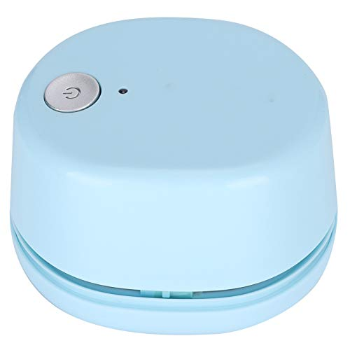 Limpiador de mesa portátil pequeño eléctrico lindo Mini azul barredora de escritorio...