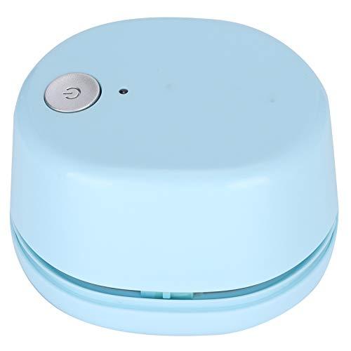 Leiser und geräuscharmer elektrischer kleiner tragbarer Reinigungstischplattenreiniger Starke Saugkraft zum Reinigen der Nylonbürste für den Desktop