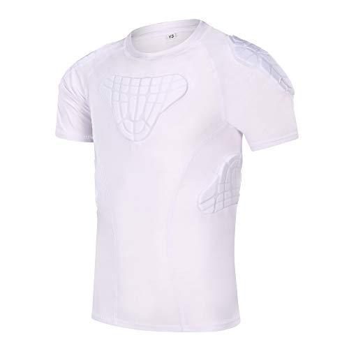 TUOY Youth Boys Padded Protective Shirts Shorts for Football Paintball Baseball