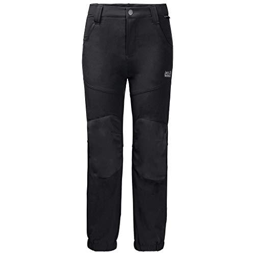 Jack Wolfskin Raskal Winter Pantalon Kids Enfants Pantalon Enfant Black FR: XL (Taille Fabricant: XL)
