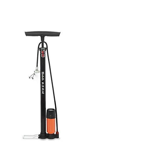 Cloudlesscc Bomba de Aire Bicicleta Montaña Bicicleta Batería Coche Motocicleta Bomba Bike Bike Hogar Bomba de Alta presión con barómetro, con Reloj Bomba Manual