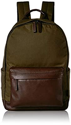 Fossil Men's Buckner Backpack Green, One Size