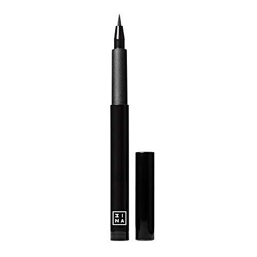 3INA Makeup Cruelty Free Paraben Free Vegan Pen Eyeliner 1.1 ml Black