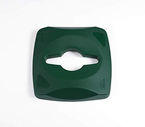 Rubbermaid Commercial Products 1788375 Couvercles ultra-résistants pour conteneur de recyclage carré de 87 l 41,6 x 41,1 x 20,3 cm 48/162 cm Lot de 4