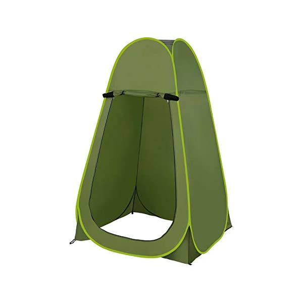 JANOON Shower Privacy Toilet Tent Beach Portable Changing Dressing Camping Pop Up tents Room Sun Sunshade Baby Outdoor Backpack Shelter Canopy ® Crystals 1