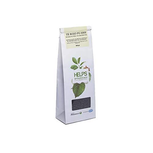 HELPS INFUSI - Tè rosso Pu Erh 100% naturale sfuso. Tè dimagrante, diuretico e brucia grassi. Sacco sfuso da 100 grammi.