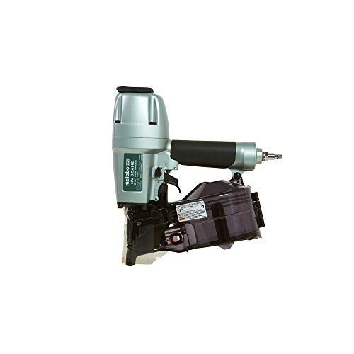 Metabo HPT Coil Siding Nailer, 1-1/2 inch to 2-1/2 inch Siding Nails, Side load, Tilt Bottom Magazine (NV65AH2)