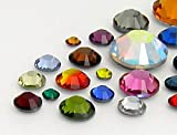 gogoritas Piedras Strass Hotfix de Preciosa SS 6 - SS34 (Mosaic Mix), 1440 Piezas (10 Gross)