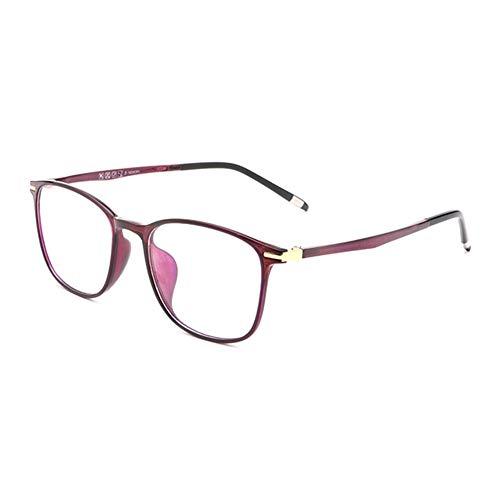 D&XQX Anti-Blu-Ray leesbril vermindert overbelasting van de ogen computerbril TR90 montuur hars lenzen glazen dioptrieën +1,0 tot +3,5