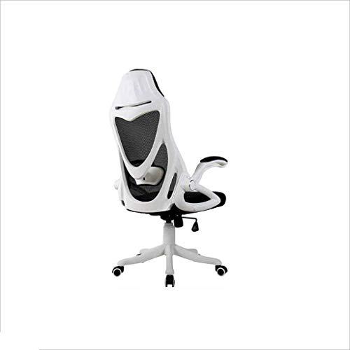Sillas Gaming Silla Ordenador Ascensor Silla Juego competitivo (Color : White)