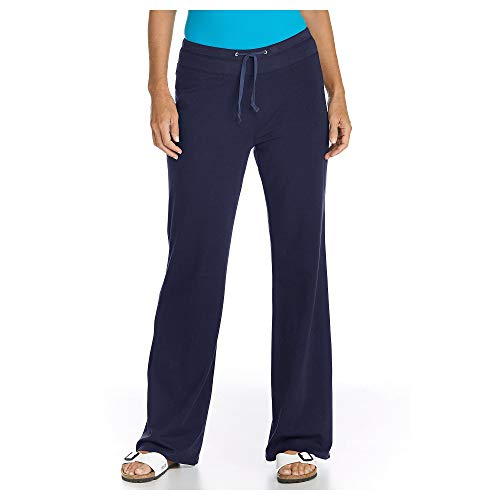 Coolibar UV-Protective Slip Femme, Bleu, XS