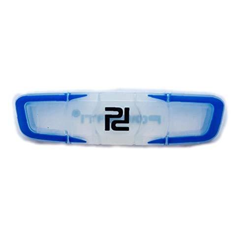 Raqueta De Tenis Antivibrador Prima De Tacto Blando De Silicona Amortiguador Agradable para El Brazo De La Raqueta Azul Cuerdas