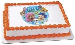 Bubble Guppies Edible Cake Cupcake or Cookies image Topper (1/4 Sheet)