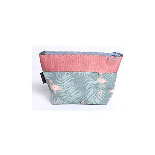 Organisateur De Maquillage Voyage   Fashion Mini Blue Makeup Bag Home Small Objects Storage Bag Travel Portable Beauty Makeup Storage Bag-blue-