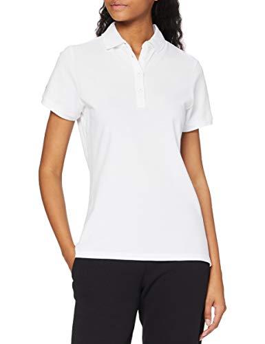 Helly Hansen Crew Pique 2 Camisa Polo, Mujer, Blanco, M