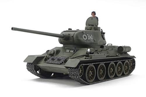 タミヤ 1/48 ミリタリーミニチュアシリーズ No.99 ソビエト中戦車 T-34-85 プラモデル 32599