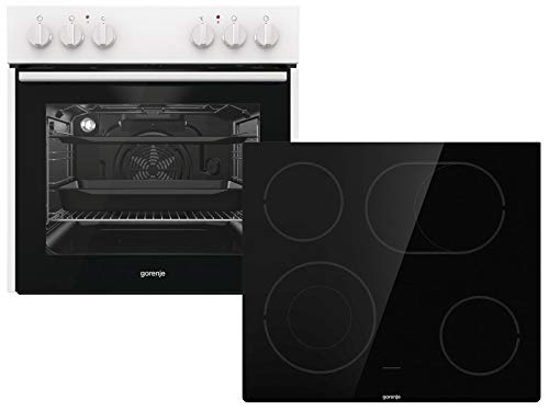 Gorenje Red Pepper Set N3 Einbauherd Kochfeld Backofenset Herdset Küche