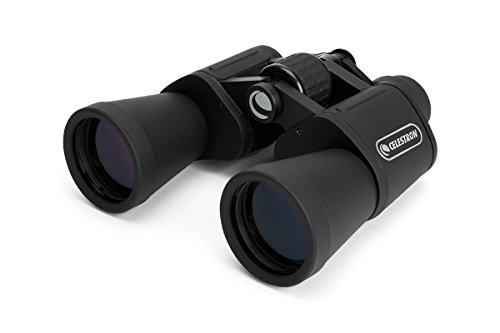 Celestron – UpClose G2 20x50 Porro Binoculars with Multi-Coated BK-7 Prism Glass – Water-Resistant Binoculars with Rubber Armored and Non-Slip Ergonomic Body for Sporting Events