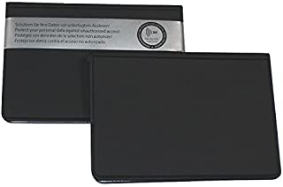 ID Protec RFID Case Black for Eperso and 2 Other Cards in Credit Card Format 69.5x97mm Black