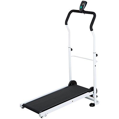 homcom Tapis Roulant Magnetico Pieghevole per Fitness Allenamento a Casa in Acciaio...