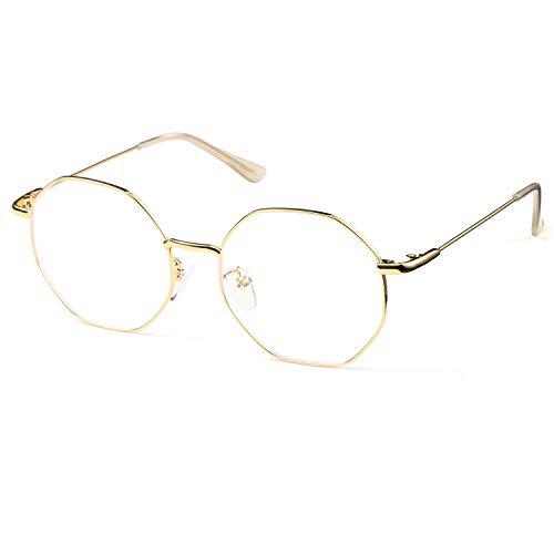SaNgaiMEi gafas luz azul Mujer gafas ordenador Evita la Fatiga Ocular,gafas sin graduar,gafas filtro azul