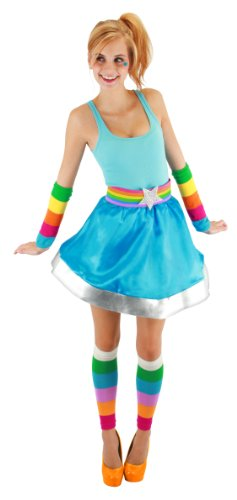 One-Size: leg warmers Halloween size and Rainbow Brite Adult Arm And Leg Warmers Rainbow Brite adult arm (japan import)