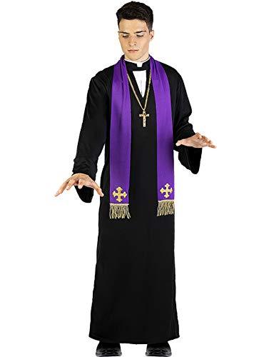 Funidelia | Disfraz El Exorcista Padre Karras Oficial para Hombre Talla Estndar Nia del Exorcista, Pelculas de Miedo, Padre Karras, Terror