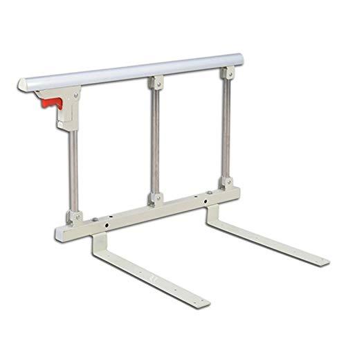 N / A LINLINZ Sponda Letto, Pieghevole Ringhiera da Letto Metallo Sicurezza Capezzale Protezione del Sonno per Anziani Disabilitato Ospedale Maniglia Paraurti, 70 * 40cm
