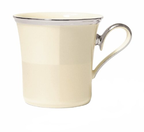 Ivory Frost Accent Mug - 1
